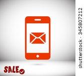 phone icon. one of set web icons