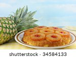 Pineapple Upside Down Cake Wit...