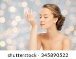 beauty  aroma  people and body...   Shutterstock . vector #345890522