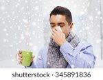 healthcare  flu  people ... | Shutterstock . vector #345891836