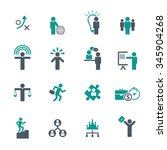 human resource  business and... | Shutterstock .eps vector #345904268
