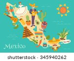 complex vector illustration of... | Shutterstock .eps vector #345940262