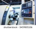 machine control panel cnc | Shutterstock . vector #345985106