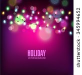 vector festive background of... | Shutterstock .eps vector #345994652