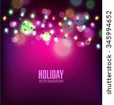 vector festive background of... | Shutterstock .eps vector #345994652
