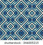 trendy  contemporary ethnic...   Shutterstock .eps vector #346005215