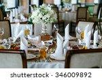 elegant stylish decorated...   Shutterstock . vector #346009892