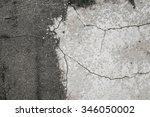 cracked concrete texture   Shutterstock . vector #346050002