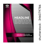 flyer template  | Shutterstock .eps vector #346079786