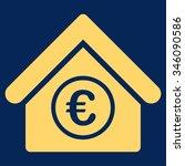 euro financial center vector... | Shutterstock .eps vector #346090586
