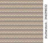 vector seamless texture. ethnic ... | Shutterstock .eps vector #346098032