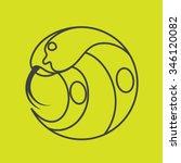 Cobra Snake Head Logo. Line Ar...