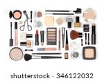 Makeup Cosmetics And Brushes O...