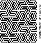 abstract geometric pattern by... | Shutterstock . vector #346130942