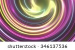 abstract background gold swirl | Shutterstock . vector #346137536
