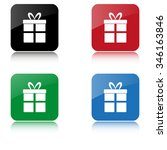 gift    color vector icon  with ...
