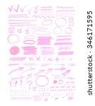 vector bulk collection of... | Shutterstock .eps vector #346171595