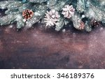 christmas holidays background... | Shutterstock . vector #346189376