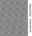 vector seamless texture. modern ... | Shutterstock .eps vector #346194482