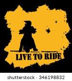 ride motorcycle vector