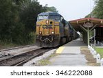Freight Train Passing Deland...