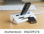 Silver Usb 3.0 Extender With...