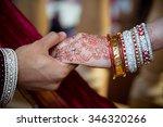 holding hands | Shutterstock . vector #346320266