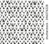 vector hand drawn tribal... | Shutterstock .eps vector #346376228