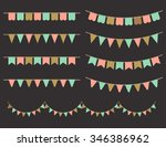 vector illustration of colorful ... | Shutterstock .eps vector #346386962