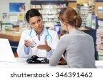 asian medical doctor with... | Shutterstock . vector #346391462
