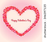 happy valentine's day card.... | Shutterstock .eps vector #346397135