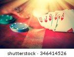 heavenly light illuminates a...   Shutterstock . vector #346414526