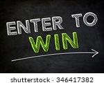 enter to win | Shutterstock . vector #346417382