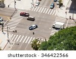Small photo of Spring Street and traffic in Los Angeles, USA