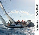 Sailing Yacht. Yachting. Sailing