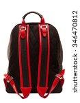 backpack  bag  leather backpack ... | Shutterstock . vector #346470812