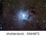 NGC 7023 - The Iris Nebula in Cepheus - stock photo