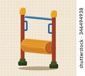 amusement park facilities theme ... | Shutterstock .eps vector #346494938