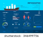 business info graphic | Shutterstock .eps vector #346499756