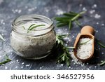 sea salt scented herb rosemary... | Shutterstock . vector #346527956
