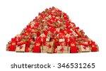 Big Pile Of Christmas Gifts...