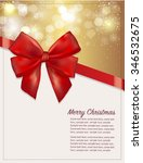 christmas typography ... | Shutterstock .eps vector #346532675