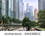 hongkong  china   october 25 ... | Shutterstock . vector #346538822