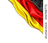 Germany  Flag Of Silk With...