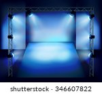 show in the stage. vector...   Shutterstock .eps vector #346607822