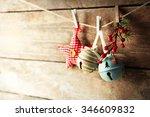 Beautiful Christmas Toys On Ol...