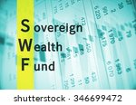 business acronym term swf  ... | Shutterstock . vector #346699472