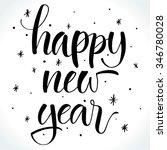 happy new year background with... | Shutterstock .eps vector #346780028