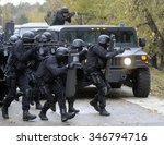 special police team in action | Shutterstock . vector #346794716