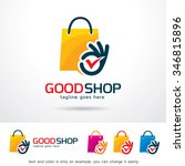 good shop logo template design...